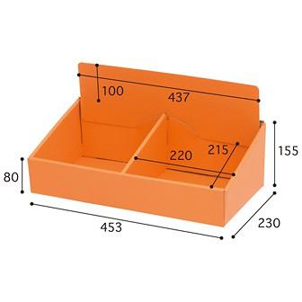 カウンター用段ボール什器 Bタイプ(GW−400)
