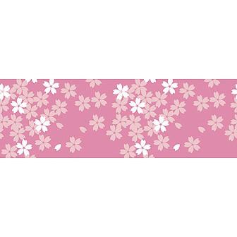 ビニール幕 桜のイラスト(桜咲く)