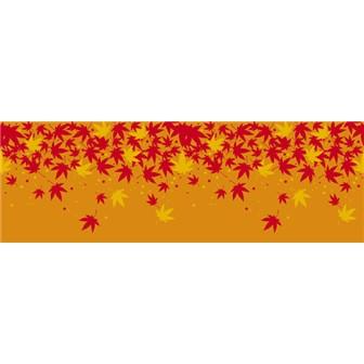 ビニール幕 秋の彩り