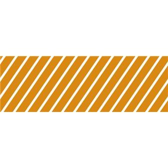 ビニール幕 ストライプ(オレンジ)