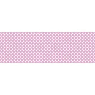 ビニール幕 水玉 ピンク