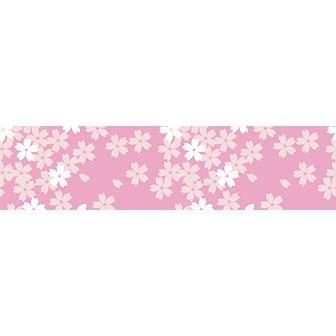 ビニール幕 桜咲く [45cm(H)]