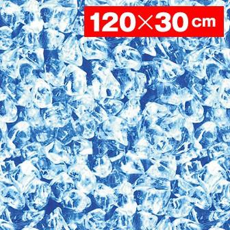 耐水陳列シート氷【120×30cm】