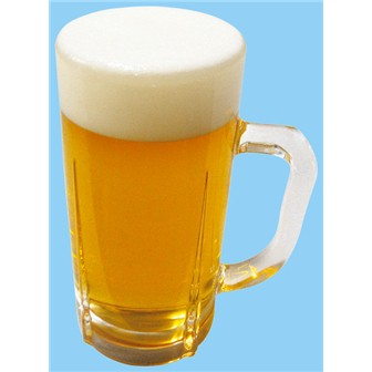 食品サンプル 生ビール 中ジョッキ