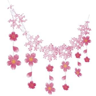 桜吹雪ガーランド