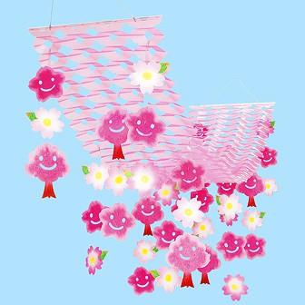 スマイル桜プリーツハンガー