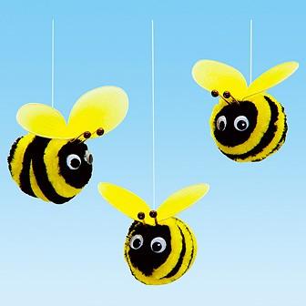 ミツバチくん(3ヶセット)