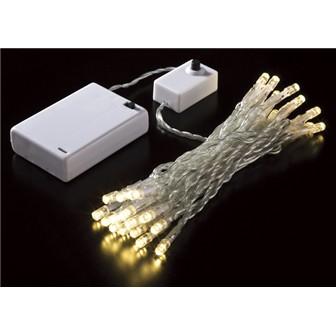 30球タイマー付LEDライト(ゴールド)