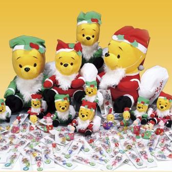 サンタのくまさんクリスマスプレゼント(100名様用)
