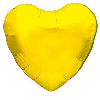 ハート型アイブレックスバルーン(ゴールド)