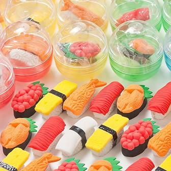 ガチャコップ用景品 お寿司消しゴム(100個入)