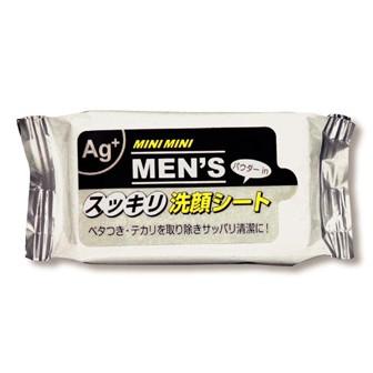 ミニミニウェット(MEN'Sスッキリ洗顔シート)10枚入