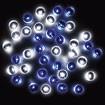 防滴200球LEDライト(ホワイト/ブルー)
