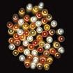 防滴400球LEDスターリーライト(ゴールドグラデーション)