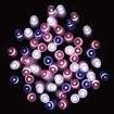 防滴400球LEDスターリーライト(ピンクグラデーション)