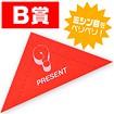 スピード三角クジ B賞